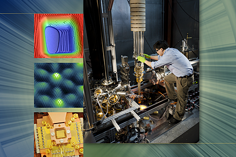 "Microscope with subatomic resolution, chip-scale ion trap, nanomaterial from overlapping atom sheets, silicon ""ruler"" for microchip measurements"