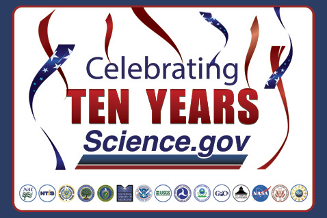 Celebrating Ten years Science.gov