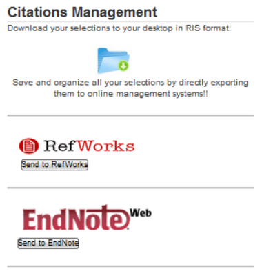 Citations management